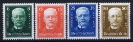 Deutsche Reich:  Mi Nr 403 - 406  MNH/**/postfrisch/neuf Sans Charniere 1927 - Deutschland