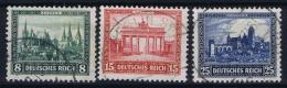 Deutsche Reich:  Mi Nr 446 - 448  Gestempelt/used/obl. 1930 IPOSTA Part Set