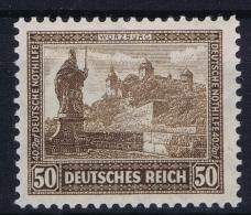 Deutsche Reich:  Mi Nr 449 MH/* Falz/ Charniere 1930 IPOSTA - Germania