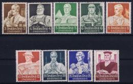 Deutsche Reich:  Mi Nr 556 - 564  MNH/**/postfrisch/neuf Sans Charniere 1934