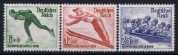 Deutsche Reich:  Mi Nr 600 - 602 MNH/**/postfrisch/neuf Sans Charniere 1935