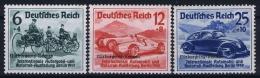 Deutsche Reich:  Mi Nr 695- 697 MNH/**/postfrisch/neuf Sans Charniere 1939 Nürburgring-Rennen