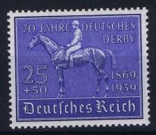 Deutsche Reich:  Mi Nr 698 MNH/**/postfrisch/neuf Sans Charniere  1939