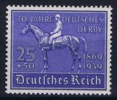 Deutsche Reich:  Mi Nr 698 MNH/**/postfrisch/neuf Sans Charniere  1939 - Deutschland
