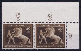 Deutsche Reich:  Mi Nr 699 MNH/**/postfrisch/neuf Sans Charniere  1939 Bogenecke