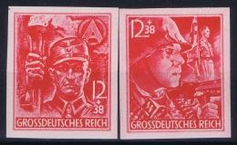Deutsche Reich:  Mi Nr 909 U - 910 U MNH/**/postfrisch/neuf Sans Charniere 1945