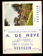 Manufacture De Tabacs Et Cigares VESTALIN - 1958. - Objets Publicitaires