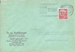 LETTER RECKLINGHAUSEN 1958 - [7] Federal Republic