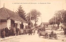 33 - GIRONDE / Loupiac De Cadillac - Devanture Bureau De Tabac - Superbe Animation - Automobile - Otros Municipios