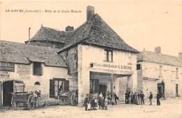 44 - LOIRE ATLANTIQUE / Le Gavre - Devanture De L' Hôtel De La Croix Blanche - Beau Cliché Animé - Le Gavre