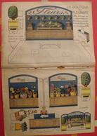 Découpage  Diorama à Construire. La Boutique Du Fleuriste, Fleurs Plantes. 1934 - Collections