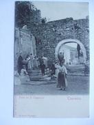ITALY SICILY - Taormina - Fonte Dei P. Cappuccini - Autres Villes