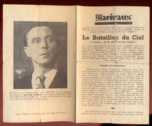 """Cinéma MARIVAUX à Liège - Programme Du 10 Au 16 Octobre 1947 - """"Le Bataillon Du Ciel"""". - Publicité Cinématographique"""
