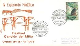 MATASELLOS ORENSE 1973 - 1971-80 Storia Postale