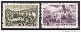 North Korea 1965  Michel 582/83  Mnh - Corée Du Nord