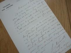 Pierre Armand VAUX (1848-1940) Député DIJON - LOI Réparations Erreurs Judiciaires - AUTOGRAPHE - Autographes