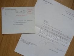 Raymond TRIBOULET (1906-2006) Député CAEN. Musée Arromanches. President INSTITUT ... AUTOGRAPHE - Autographes