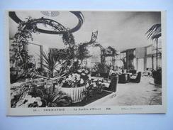 """CPA """"Normandie - Le Jardin D'hiver"""" - Dampfer"""