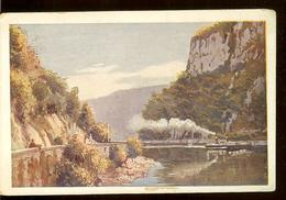 Postcard, Romania, Danube, Cazane, Steamer, Not Circulated, Written, 1919 - Paquebots