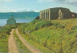 Islande        H11         14 Th Century Church Ruins At Kirkjube Farse Island - Islande