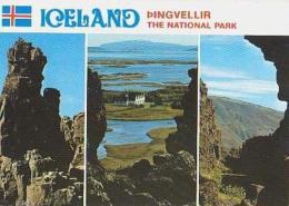 Islande        H13         Pingvellir;The National Park ( 3 Views ) - Islande