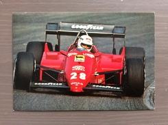 Cartolina Ferrari F1 Annullo Sul Retro Trofeo Enzo Ferrari Torneo Int.le Giovanile Di Calcio Maranello 1-4-1991 - Soccer