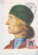 ITALIA - FDC MAXIMUM CARD 1973 - GIOVANNI BELLINI IL GIAMBELLINO  - PITTORE  VENEZIA NO VG - Cartoline Maximum
