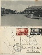COLONIE ERITREA ADDIS ABEBA 5 + 15 CENT SOGGETTI AFRICANI 1939 BARRIERA DE BOSCO - 1900-44 Victor Emmanuel III.