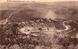 BEYROUTH   -  Vue Prise A Aley - Lebanon