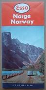 Esso Norge Norway Norvège. - Carte Routière (C) 1959. - Cartes Routières