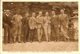 (C).Canelli(AT).F.lli GANCIA.Campioni In Visita Agli Stabilimenti,rara.Viaggiata (165-a12) - Asti