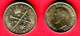 § 1 FLORIN     (KM 47 )  TTB+ 45 - Monnaie Pré-décimale (1910-1965)