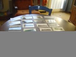 LOT  DE    25    CPA  LOCOMOTIVE  NOIR ET BLANC  ET COULEURS - Postcards