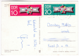 CP1260 Germany Naumburg Dom Nice Stamp Emblem Warsaw Pact - Naumburg (Saale)