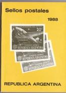 REPUBLIQUE D'ARGENTINE TIMBRES POSTES 1988  (dil295) - Cataloghi