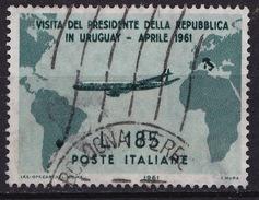1961 MiNr. 1101 Gronchi 185 Lire Gestempelt (b170301) - 6. 1946-.. Republic