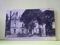 MAUZE (DEUX-SEVRES) CHATEAU JOUSSELIN. - Mauze Sur Le Mignon