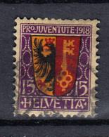PJ 1918  N° 11  OBLITERE  CATALOGUE  ZUMSTEIN - Pro Juventute