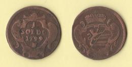 Gorizia Austria Soldo 1799 S - Regional Coins