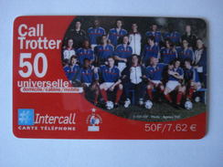 "INTERCALL  PU96   "" Neuve Non Gratter ""  EQUIPE DE FRANCE CALL TROTTER - France"