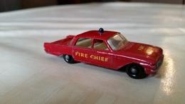 Matchbox 59b Ford Fairlane Brandweercommandant - Matchbox (Lesney)