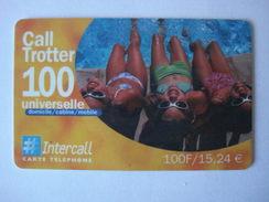 "INTERCALL  PU98   "" Utilisée ""  CALL TROTTER 3 FEMMES - France"