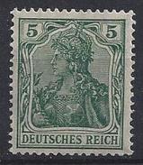 Germany 1915  Germania  5pf (**) MNH  Mi.85 II A - Neufs