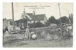 Indochine Indochinois 14/18 En France à Aulnay-sous-Bois Lavoir Ferme De Savigny Bien/TB Ecriture Au Crayon Au Dos Vert. - Viêt-Nam