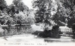 LYONS-LA-FORET (Eure) - Château De Rosay - Le Parc - Lyons-la-Forêt
