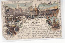Gruss Vom Tauben-Markt Zu Löwenberg I.Schlesien - 1902 Litho 2.Wahl - Schlesien
