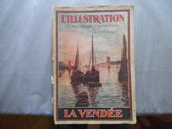 LA VENDEE L'ILLUSTRATION ECONOMIQUE ET FINANCIERE NUMERO SPECIAL 1930 104 PAGES - Pays De Loire