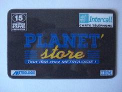 "INTERCALL  PR65   "" Neuve Non Gratter ""  PLANET STORE - France"