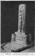 B30051 Aurillac , Le Monument Paul Doumer - Allanche
