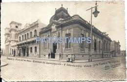 64130 URUGUAY TRINIDAD DTO FLORES IGLESIA CLUB 25 DE MAYO CONSEJO DE ADMINISTRACION E INTENDENCIA 1935 POSTAL POSTCARD - Uruguay